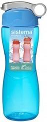 Спортивная бутылка для воды Sistema Hydrate, синяя 645 мл