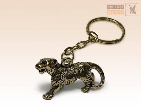 брелок Тигр стоит