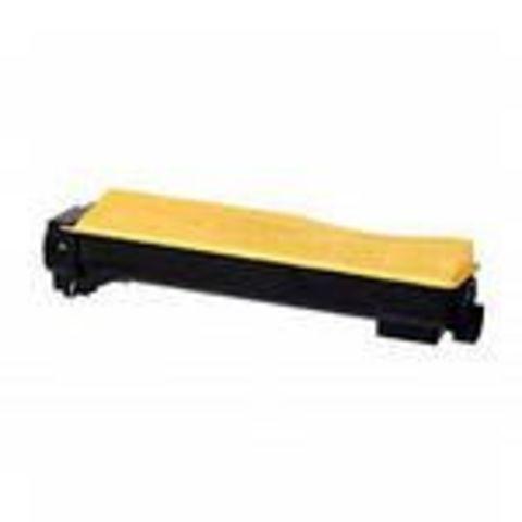 Совместимый картридж Kyocera TK-550Y желтый для принтеров Kyocera FS-C5200DN. Ресурс 6000 стр.