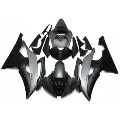 Комплект пластика для мотоцикла Yamaha YZF-R6 08-15 Серо-Черный Заводской