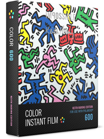 Кассета Color Keith Haring Frame для Polaroid 600