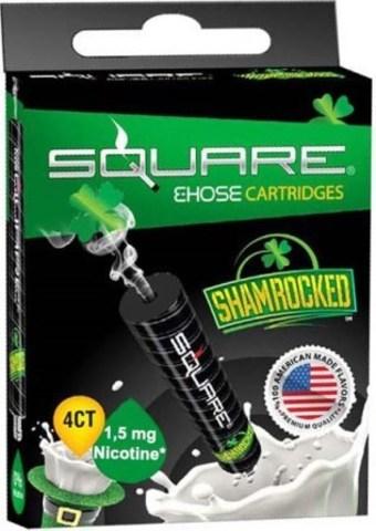 Картриджи Square - Ирландский крем с никотином