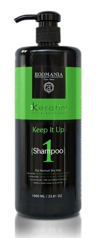 Шампунь «Все под контролем!» для нормальных и сухих волос,Egomania,1000 мл.