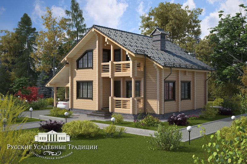 """Проекты «Шале» Двухэтажный дом """"Карелия"""" 195 кв.м. NEW_dom_25_01_logo.jpg"""