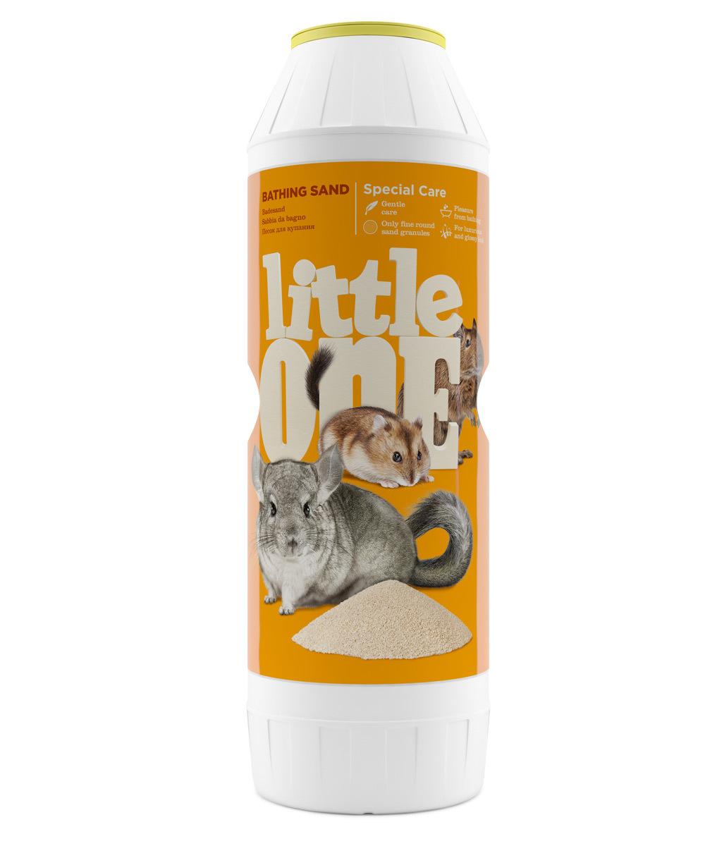 Наполнители и опилки Песок Little One для купания шиншилл и других декоративных животных (1 кг) 33010.jpg