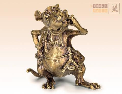статуэтка Крыса - Охотник