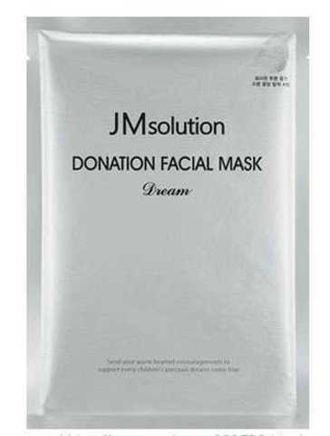 Антивозрастная Тканевая Маска С Пептидами JM SOLUTION Donation Facial Mask Dream