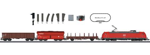 Marklin 29841 Цифровой стартовый набор Грузовой поезд с электровозом BR 185.5, DB AG, Ep.V, HO