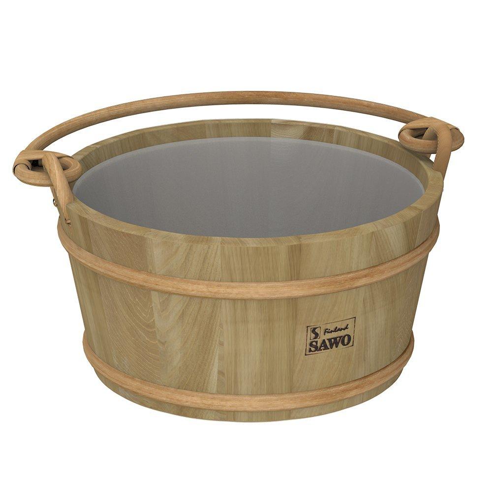Ведра и кадушки: Ведро деревянное SAWO 300-HD (9 литров, с пластиковой вставкой) ведра и кадушки кадушка деревянная sawo 300 tp 9 литров с пластиковой вставкой