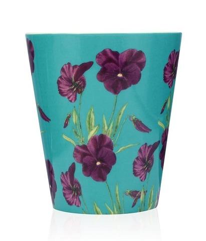 Свеча ароматическая в керамике Цветущая фиалка, Wax Lyrical