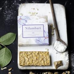 Шоколад Nilambari белый на кокосе с манго, 65 г