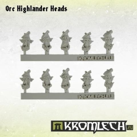 Orc Highlander Heads (10)
