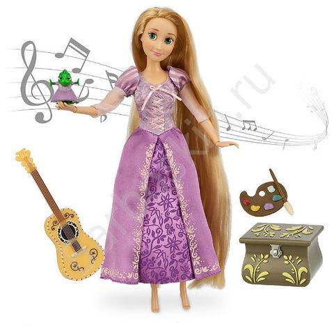 Поющая кукла Рапунцель (Rapunzel) - Рапунцель, Disney