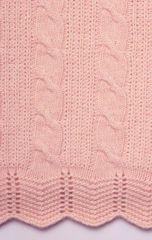 Плед детский 100х150 Luxberry Imperio 93 розовый