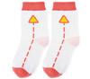 Носки детские с рисунком Дорожные знаки (красный)