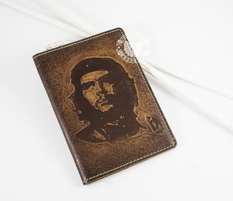 BY14-17-01 Обложка из натуральной кожи &#34Че Гевара&#34