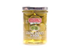 Оливки зелёные Дольчи ди Сицилия, 180г