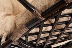 """КОМПЛЕКТ для отдыха """"Оазис (OASIS)"""" 5003-1 (без подушки) — Antique brown (античный черно-коричневый)"""