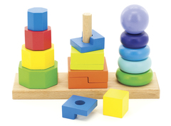 Игрушки из дерева Пирамидка