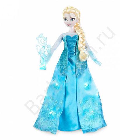 Поющая кукла Принцесса Эльза (Elsa) Делюкс 41 см - Холодное сердце (Frozen), Disney