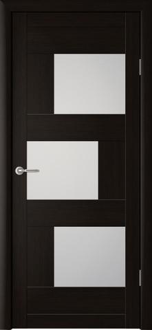 Дверь Фрегат ALBERO Стокгольм, стекло матовое, цвет кипарис тёмный, остекленная