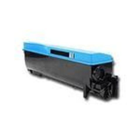 Совместимый картридж Kyocera TK-560C голубой для принтеров Kyocera FS-C5300DN, C5350DN. Ресурс 10000 стр.