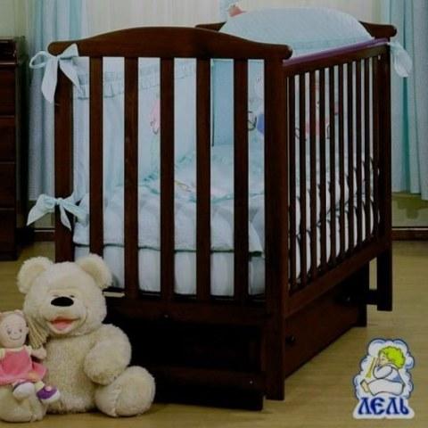 Кровать Лель АБ 15.2 Лютик махагон