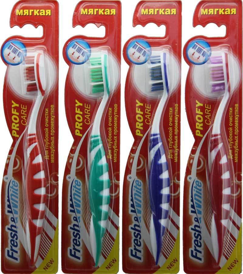 Зубная щетка «Extra comfort» мягкая