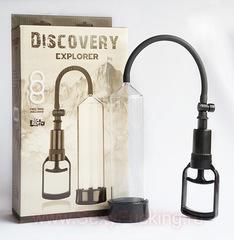 Мужская вакуумная помпа для увеличения пениса DISCOVERY EXPLORER (5,5 х 21,5 см.)