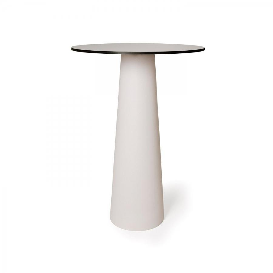 Moooi MOTCFP0103W + MOTCHR0703- — Стол CONTAINER TABLE ø70