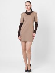 P4173-2 платье коричневое