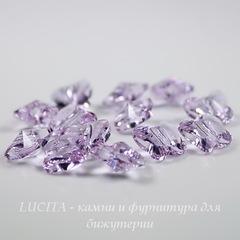 5754 Бусина в виде бабочки Сваровски Violet 8 мм