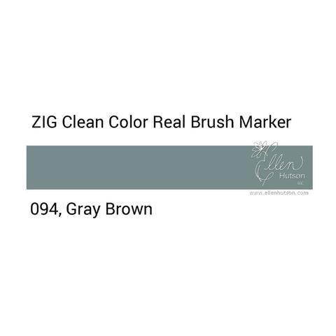 Маркер акварельный ZIG Clean Color Real Brush- штучно - 094