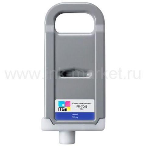 Совместимый картридж PFI-706 Blue для Canon imagePROGRAF iPF8400/iPF9400/iPF9400s