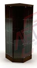 ВП-403  Витрина угловая стеклянная