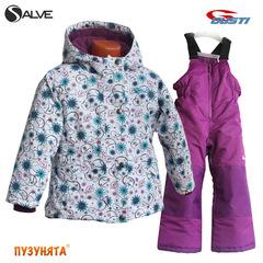 Комплект для девочки зима Salve 5072 grape juice