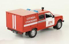 VAZ-2121 Niva VIS-294611 Rescue Service 1:43 DeAgostini Auto Legends USSR #253