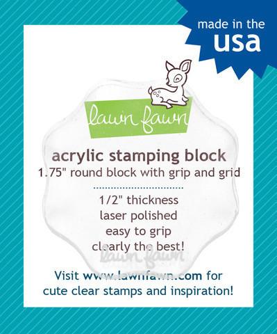 Акриловый блок диаметр 4 см.