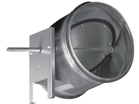 Дроссель-клапан под электропривод ZSK 200 мм