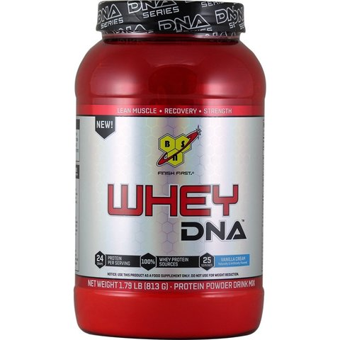 Whey Protein DNA,    1.74 lbs.