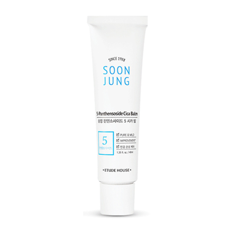 Крем бальзам Etude House Soonjung 5-Panthensoside Cica Balm 40ml