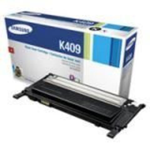 Картридж Samsung CLT-K409S для Samsung CLP-310/CLP-315/CLX-3170/CLX-3175  тонер-картридж черный. Ресурс 1500 копий.