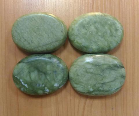 Набор профессиональной формы из зеленого нефрита 4 шт.