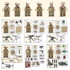 Минифигурки Военных Армия США Спецназ серия 110