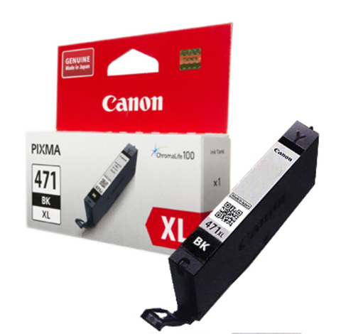 Картридж Canon CLI-471XL BK/0346C001