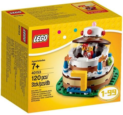 LEGO Creator: Торт на День Рождения 40153 — Birthday Table Decoration — Лего Креатор Создатель