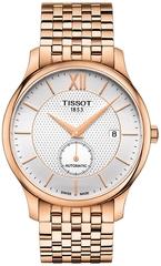 Мужские швейцарские часы Tissot Tradition Automatic Small Second T063.428.33.038.00