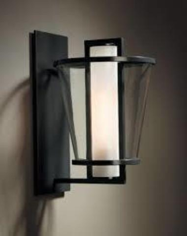 replica Lucerne wall lamp by Kevin Reilly