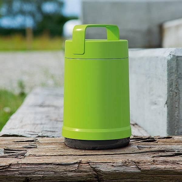 Термос для еды Emsa Rocket (1,4 литра) 2 контейнера, зеленый*