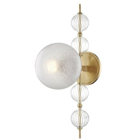 replica light  wall lamp  Hudson Valley CALYPSO 1 lights ( brass )